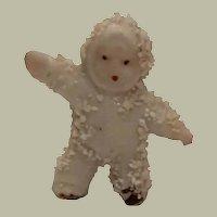 Antique German Miniature Snow Baby