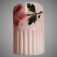 Tumbler - Hand Painted Flowers