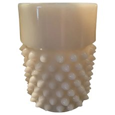 Pointed Hobnail Tumbler - Doyle & Co-ca: 1884