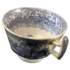 Blue & White Staffordshire Cup