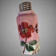 Shaker - Pink w/White Flowers