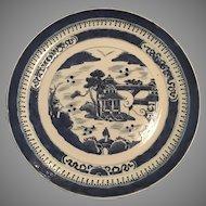 """Chinese Nanking Plate - 9"""" Diameter ca: 1800's"""