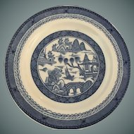 "Chinese Canton ""Woods Ware Plate"" - 6"" diameter"