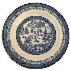 "Chinese Canton ""Woods Ware Plate"" - 6"" diameter"