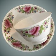 Handleless Cup and Saucer - ca: 1800's