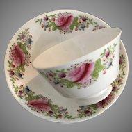 Handleless Cup and Saucer - ca: 1800's
