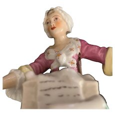 German Porcelain Figure - ca: 1880