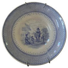 Blue and White Small Plate