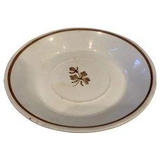 Tea Leaf Luster Small Plate