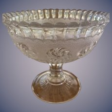 Footed Roman Rosette - Bryce Walker Compote