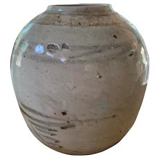 Asian Stoneware Storage Jar - ca: 1790-1820