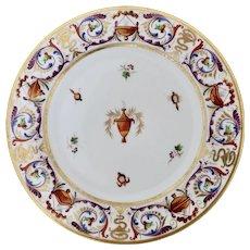 Barr, Flight & Barr plate with Egyptian motifs, 1804-13