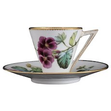 Iconic George Jones cup with violets, c.1876