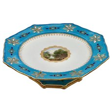 Minton comport attributed to Christopher Dresser, c.1868