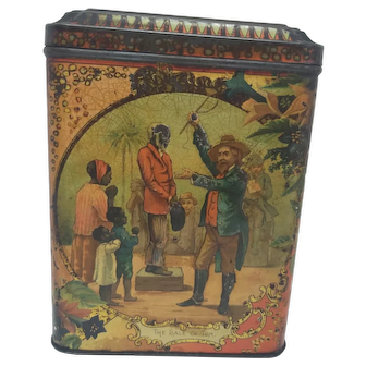 Mcvitie & Price uncle tom slavery biscuit tin