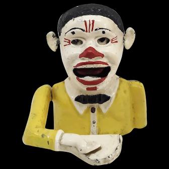Starkies clown mechanical bank
