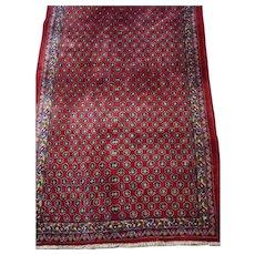 Vintage Persian Malayer Sarouk Rug 4 x 6