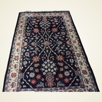 """Modern Persian Hand Knotted Wool Rug  4'1"""" x 6'3"""""""