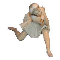Lladro Death Of A Swan Ballerina Figurine
