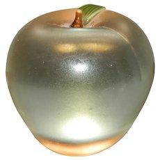 Orient Flume Apple Paperweight