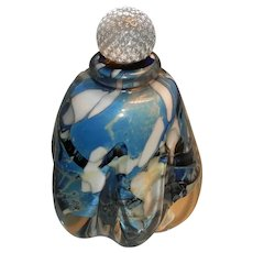Artist Nhon Van Le Art Glass Perfume Bottle