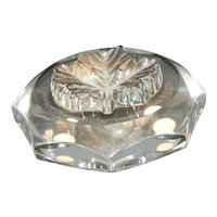 Lalique France Maple Leaf Paperweight