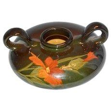 Weller Standard Glaze Oil Lamp Vase