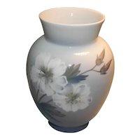 Large Royal Copenhagen Hand Painted Vase