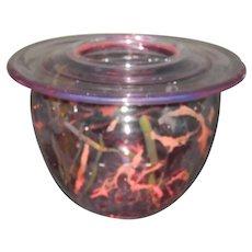 Fostoria Art Glass Bowl 1977 Signed Very Rare