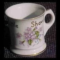 Occupied Japan Mug For A Little Shaver