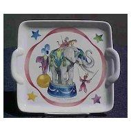 Villeroy & Boch Le Cirque Cake Plate Vintage