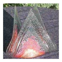 Art Glass Votive Vintage