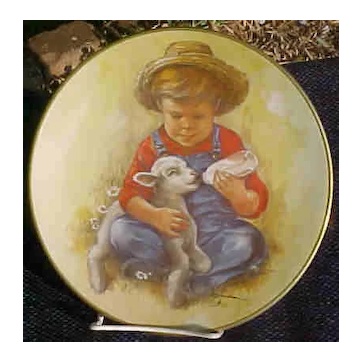 Limited Edition Gorham Plate For Kern Collectibles 1981