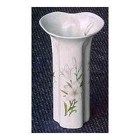 Shafford Bone China Floral Vase vintage