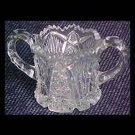 Imperial Glass Nucut Open Sugar 1914 -1932