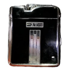 Ronson Ten-a-Case Lighter and Cigarette Case