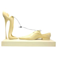 "Paul Wunderlich Shoe Sculpture ""A Deux"""
