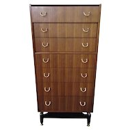 Mid Century Modern G. Plan E Gomme Chest of Drawers