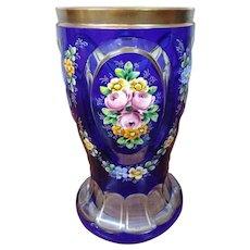 Moser Bohemian Czech Goblet