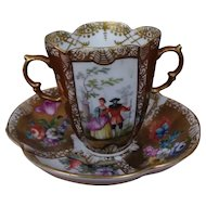 19th Century Augustus Rex Chocolate Cup
