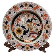 19th Century Imari Ironstone Plate