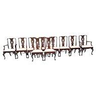 Vintage Mid Century Henredon Chairs (10)