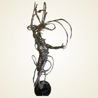 'SIRIUS' M.L. Snowden Bronze Sculpture