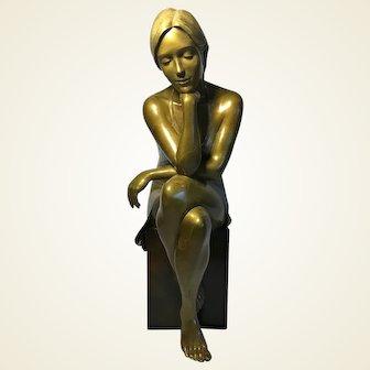 Rodd Ambroson REFLECTIONS Bronze Sculpture
