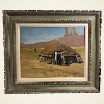 Ray Vinella Original Oil Painting SW Desert Plein Air New Mexico