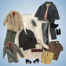 Vintage Ken Fashion  Outfits Lot