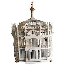 Rare antique decorative French bird house c1920
