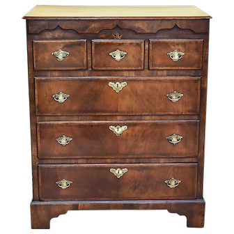 19th Century George III Walnut Chest of Drawers