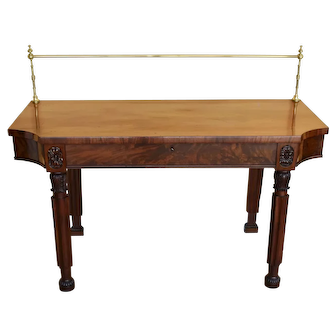 19th Century English Regency Sideboard