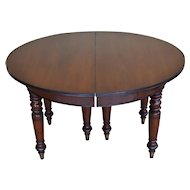19th Century William IV Mahogany Dining Table